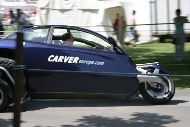 Carver cornering