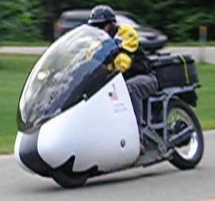 Delta-11 Electric Motorcycle