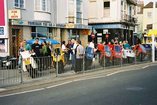 2001: 7 FFs at Quasar Weekend in Hastings