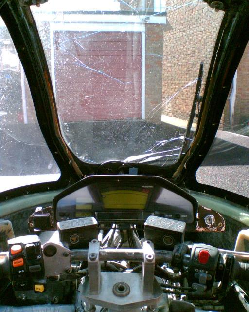 Genesis v3 driver's view