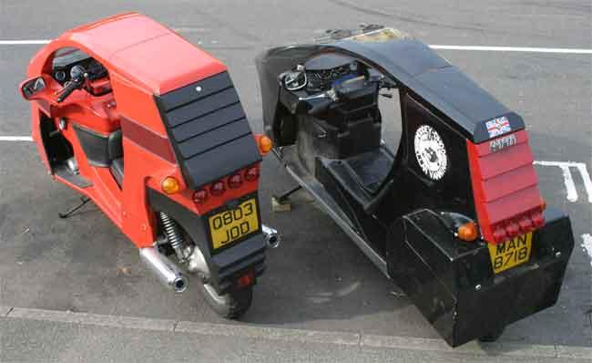 Mk2 Modified Quasar vs Std (rear)