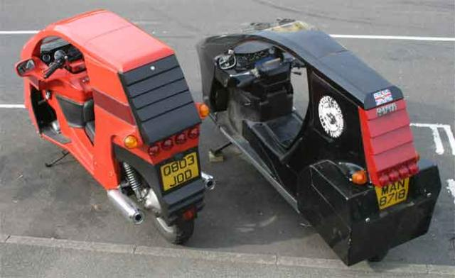 Mk2 Modified Quasar vs Std (rear)