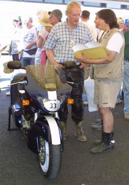Dan Gurney, Blez &  Alligator at Goodwood (2003)