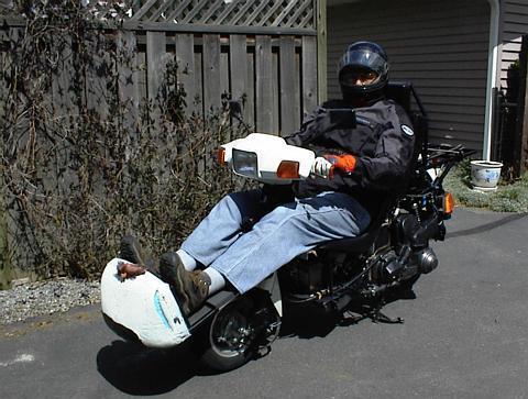 Ernest's Rekumbo FF scoot