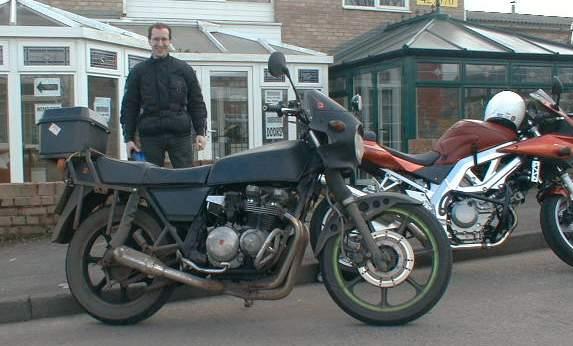 Kawasaki in Yeovil 2005