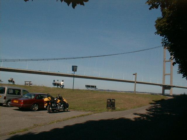 AFHumber Bridge (South) tranquil break from 300 miles of biking.