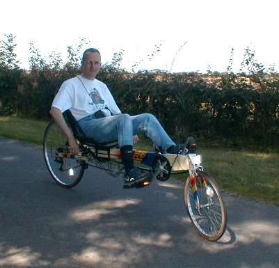 AH Recumbent Bicycle