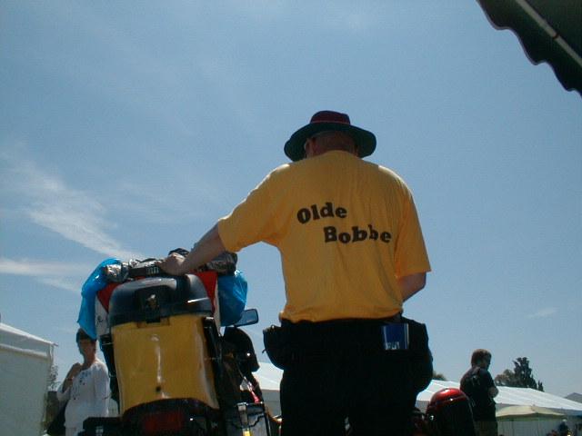 30 - Olde Bobbe in heaven with his Bananaskin!