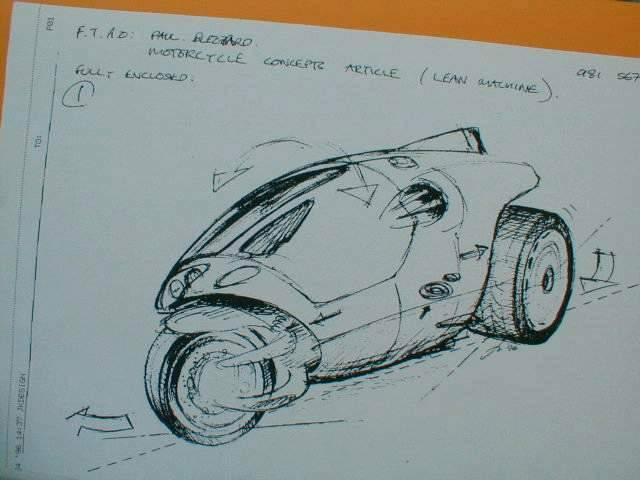 Keogh TTW concept sketch
