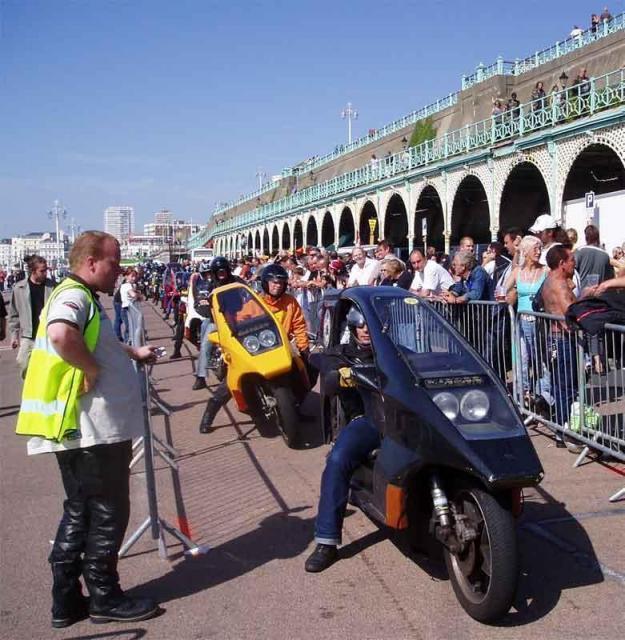 c) Quasars at the Brighton Burn Up, 2006