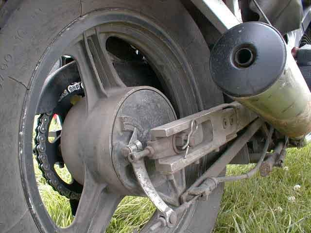 Swing arm extension