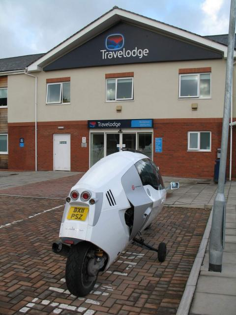 MonoTracer at Travelodge