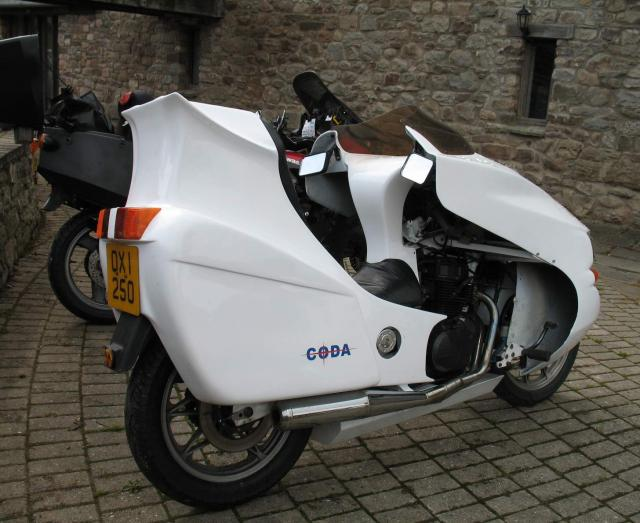 Coda, rear three quarter view