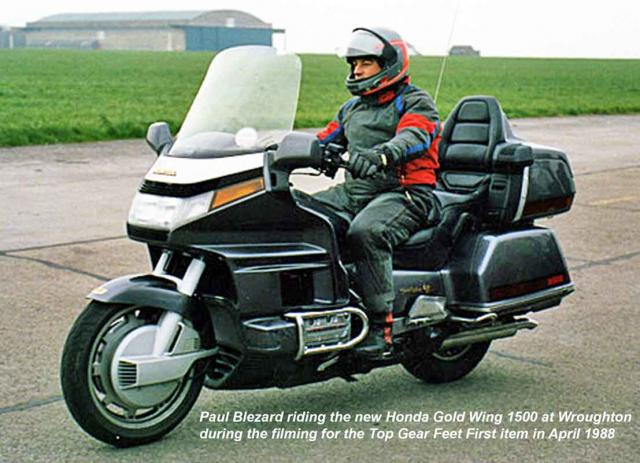 Blez on Gold Wing 1500 at Wroughton