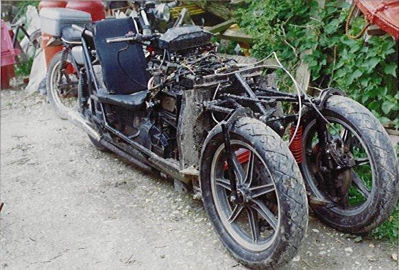 Newell Tilting 3-wheeler